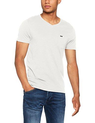 O'Neill Herren Jack's Base V-Ausschnitt T-Shirt, Weiß (Powder White), L - Jack Weiss