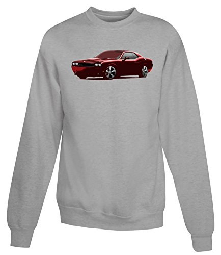 Billion Group | Sports Red | American Motor Cars | Women's Unisex Sweatshirt Gris