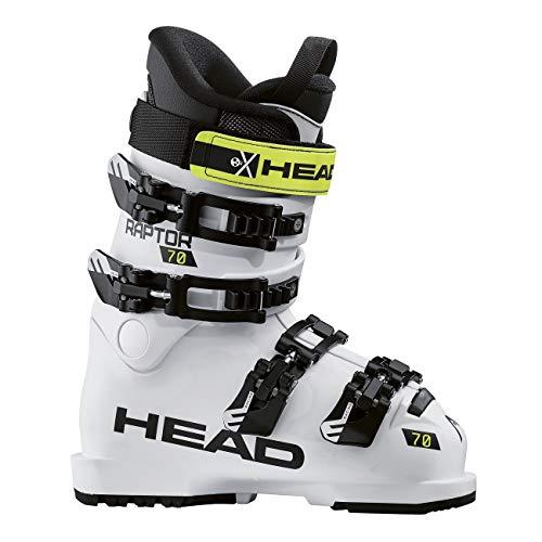 HEAD Kinder Skischuhe Raptor 70 RS Weiss (100) 24,5