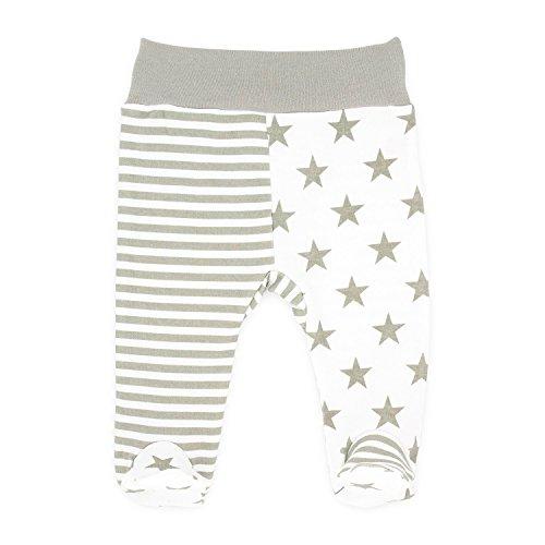 Baby-Mode Mädchen Stramplerhose Hose mit Fuß Babyhose -Kollektion Eule- (56 - 68) (68, Eule) (Oma Hose Kleinkinder)