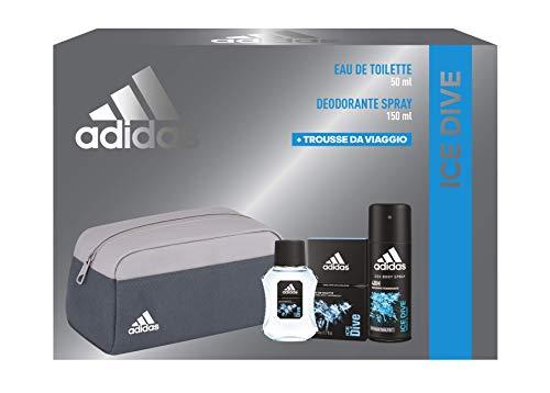 Adidas Confezione Regalo Uomo Ice Dive, 200 ml