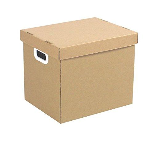Datei-Zwischenablage Bankers Box Multi-Use General Storage Archiv Box mit Deckel 330 * 250 * 260mm (1 Stück) Durch Heelinna (Datei-boxen Mit Deckel)