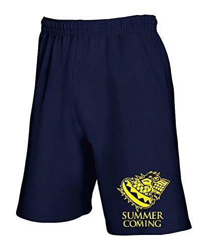 Cotton Island - Pantalone Tuta Corto FUN0141 06 06 2013 Summer Is Coming T SHIRT det2, Taglia XXL