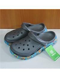 Xing Lin Sandales Pour Hommes Trou De Sport Chaussures Pour Hommes Chaussures De Plage Tendance Jardin Télévision Baotou Chaussures Antidérapantes Pour Hommes Sandales Creux Gris Code 44 1Wts5sZtO