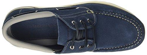 Lumberjack Herren Mork Mokassin Blu (Jeans)