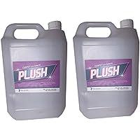 2x 5L Leistungsstark Stärke Teppich Reinigung Lösung Shampoo–Schmutz Ruß Fleckenentferner–Wolle Sicher