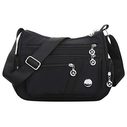 d0091e6d4 Luckycat Mujer de Bolsos de Moda Impermeable Mochilas Bolsas de Viaje Bolso  Bandolera Sport Messenger Bag
