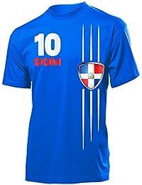 DOMINIKANISCHE REPUBLIK FANSHIRT - Herren T-Shirt Gr.S bis XXL