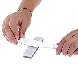 ablegrow (TM) Marke Anself 3000#/10000Grit Double Side Kombination Schleifstein Messer Schleifstein Schleifstein für Messer Spitzer weiß