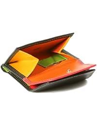 "Minibörse im Wickelformat mehrfarbig LEAS in Echt-Leder, bunt - ""LEAS Multicolore-Serie"""