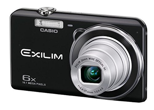 Casio Exilim EX-ZS20 Digitalkamera (16 Megapixel, 6-fach opt. Zoom, 6,9 cm (2,7 Zoll) Display, bildstabilisiert) schwarz Casio Exilim