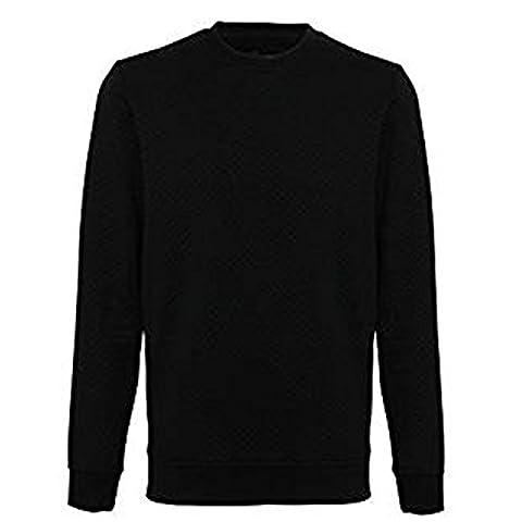 Affordable Fashion Herren Modern Pullover XX-Large Gr. Large, schwarz