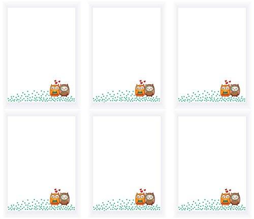 Set, DIN A6, 25 Blatt (Mitgebsel Kindergeburtstag, Mädchen od. Jungen) (Mädchen Osterkörbchen)
