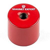 Imán expertos aldp2119m6–15de profundidad olla imán con orificio roscado M6