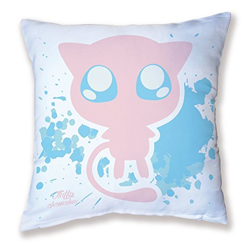 Coussin Décoration Pokemon Mew Pastel, chibi et Kawaii by Fluffy chamalow - Fabriqué en France - Chamalow Shop