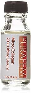 PURAFEM Anti Aging Anti-Rides Sérum Collagène Hexapeptide 20% Sérum Lifting - Pour Rejuvination peau