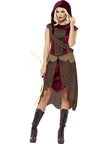 Jägerin Kostüm für Damen M (Of Einfach Kostüme Game Thrones)