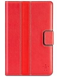 Belkin Étui Cinéma à rayures/Support/Housse pour Google Nexus 7–Rouge