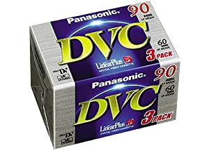 Panasonic DVC Tape 60 minute 3 Pack