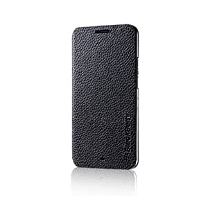 Genuine RIM BlackBerry Z30 Black Leather Flip Case - ASY-55473-001 (Not Compatible with Verizon Version)