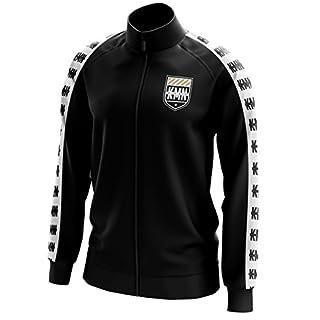 KMN Gang Trainingsjacke schwarz, Farbe:schwarz, Größe:L