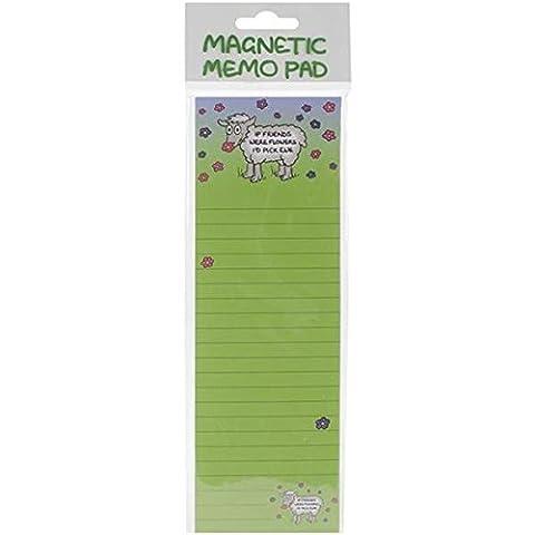 Dublin cadeau magnétique Memo Pad 7x 8.25-inchif amis ont été,