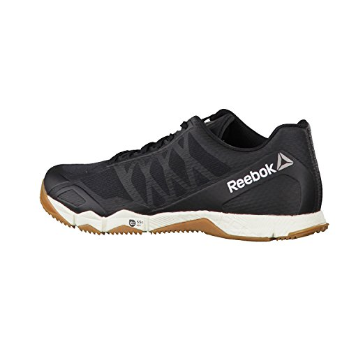 Reebok Crossfit Speed Tr, Chaussures Multisports Intérieur Homme Noir (Black/ash Grey/classic White/ Rubber Gum/pewter)