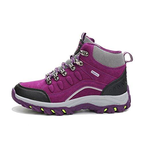 Automne Hiver Baskets Épaisses Couples Chaussures Chaussures De Randonnée 38-44