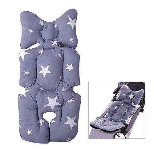 Homeng Kinderwagen-Autositz-Polster für Babyï1-4 - Baby atmungsaktiv, Netzstoff, Bio-Baumwolle (Autositz Für Jogging-kinderwagen)