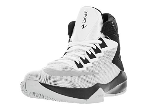 Nike 844592-100, espadrilles de basket-ball homme Blanc