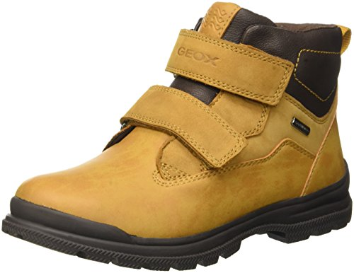 Geox Jr William B Abx A, Stivali Chukka Bambino, Gelb (Ochreyellow/BROWNC0697), 30 EU