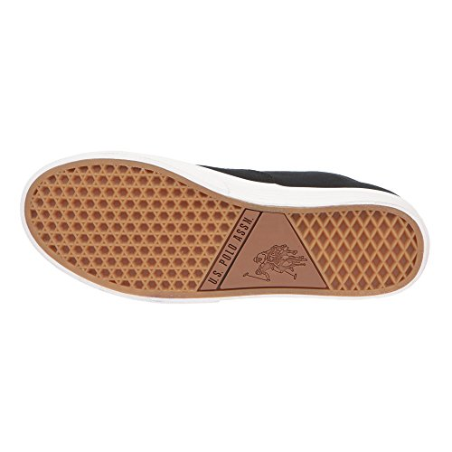 U.S. POLO Damenschuhe Mit Schnürverschluss, Sneaker Style - mod. GALAD4184S7-CY1 Schwarz