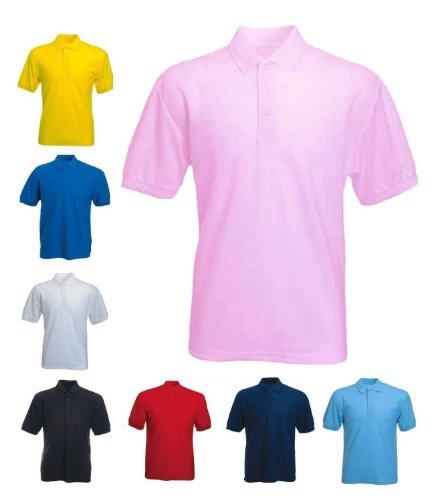 PURL Herren Poloshirt, Einfarbig * Marineblau