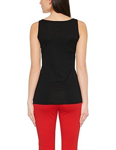 Marc Cain Essentails Damen T-Shirt +E 48.17 J50. Schwarz (Black 900)