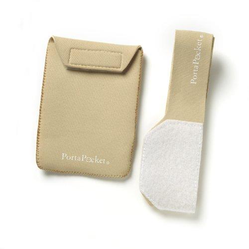 PortaPocket Combo Kit, Einem Umschnall Tragen Fall/Travel Wallet System, Beige - Diabetiker-handy-fällen