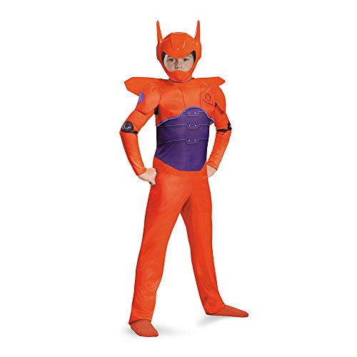 Disguise Red Baymax Classic Costume, Large (10-12)