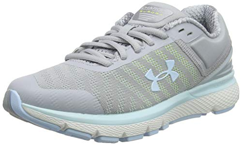 Under Armour Charged Europa 2, Scarpe Running Donna, Grigio Coded Blue/MOD Gray 102, 38 EU