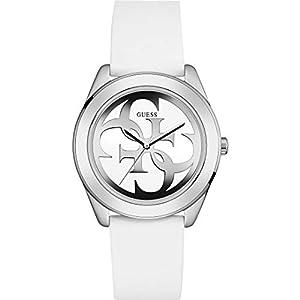 Guess W0911L1, Reloj de pulsera para mujer, Blanco