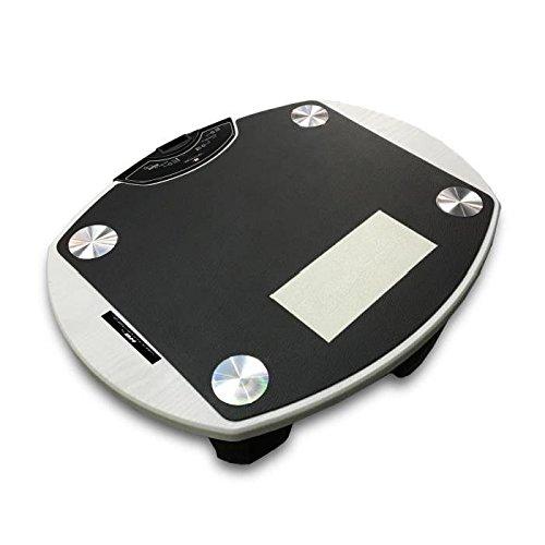 Tecnovita by BH Vibro Quick Pro Plataforma vibratoria, Unisex Adulto, Madera/Negro, Talla Única
