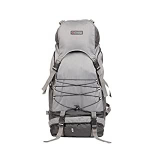 "Bleu Backpack Rucksack Bag 210 - (Grey 23"", Dimensions (LxBxH):- 11x10x23 inches)"