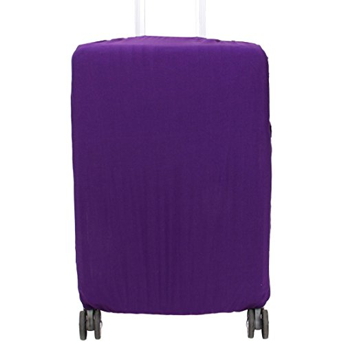 sourcingmap® 26-30 Zoll Koffer Elastischer Polyester Anti-Kratzer Schutzhülle Lila DE de - Abdeckung Dehnbare Koffer