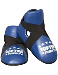 Top Ten Competición Vinilo Semicontacto Combate Boots - Azul - Medium/Large