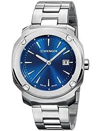 WENGER Unisex-Armbanduhr Analog Quarz Edelstahl EDGE INDEX NO: 01.1141.112