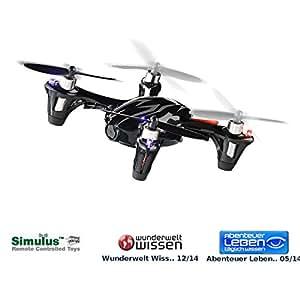 Simulus 4 Cam: 4-CH-Quadrocopter GH-3.CAM mit HD-Kamera & Funkfernsteuerung (Quadcopter Cam)