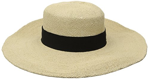 san-diego-hat-company-womens-boater-hat-with-black-ribbon-trim-and-bow-natural-one-size