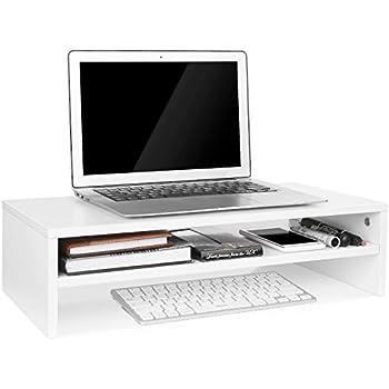 monitor stand ordinateur meuble avec 2 tiroirs imprimante table-papiers Printer