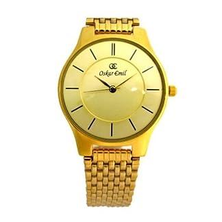 Oskar Emil ascot gold diamond – Reloj