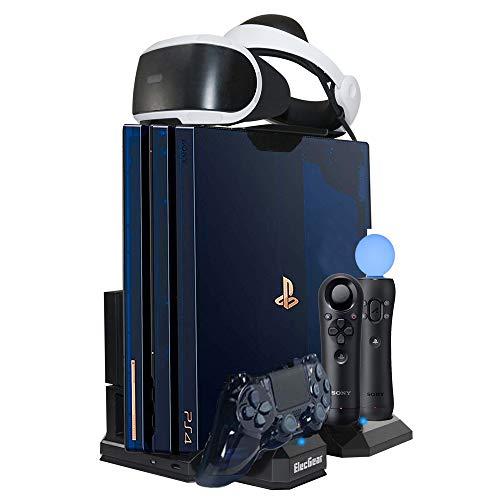 ElecGear Playstation Vertikaler Standfuß PSVR Headset vertikal Ständer Halterung, Lüfter Kühler,...