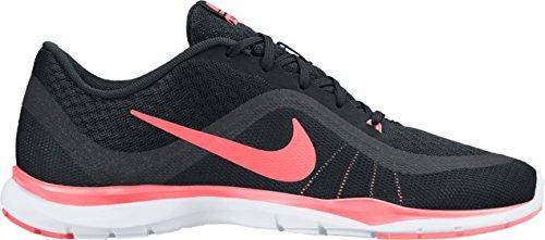 Nike Damen Wmns Flex Trainer 6 Fitnessschuhe Schwarz