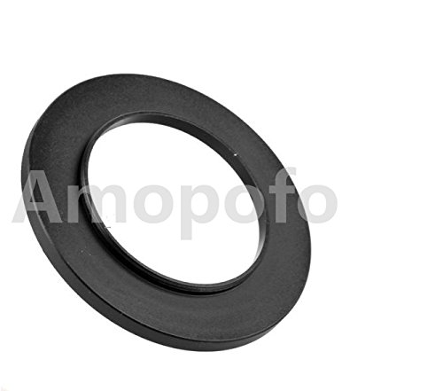 amopofo Universal 40,5-62mm/40.5mm bis 62mm STEP UP Ring Filter Adapter für UV-, ND, CPL, Metall Step Up Ring Adapter 62 Mm-adapter-ring